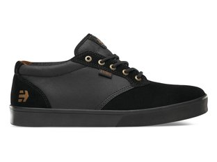 "Etnies ""Jameson Mid Crank"" Shoes - Black/Black (Brandon Semenuk)"