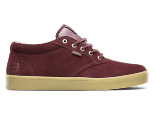 "Etnies ""Jameson Mid Crank"" Shoes - Burgundy/Gum (Brandon Semenuk)"