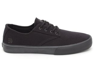 "Etnies ""Jameson Vulc LS"" Shoes - Black/Black"