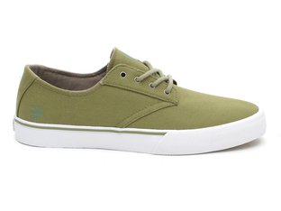 "Etnies ""Jameson Vulc LS"" Shoes - Sage"