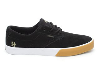 "Etnies ""Jameson Vulc"" Shoes - Black/Gum/White"