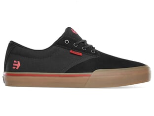 "Etnies ""Jameson Vulc"" Shoes - Black/Red/Gum (Tom Dugan)"