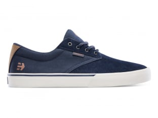 "Etnies ""Jameson Vulc"" Shoes - Navy/Silver (Nathan Williams)"