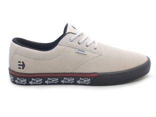 "Etnies ""Jameson Vulc"" Shoes - White/Black/Print"