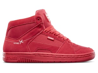 "Etnies ""MC Rap High"" Shoes - Red/White"
