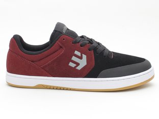 "Etnies ""Marana Michelin"" Shoes - Black/Dark Grey/Red"