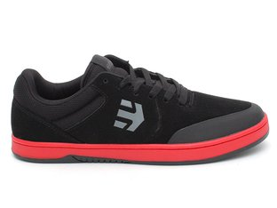 "Etnies ""Marana Michelin"" Shoes - Black/Red/Black (Ryan Sheckler)"