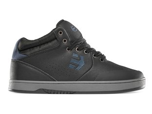"Etnies ""Marana Mid Crank"" Shoes - Black/Grey"