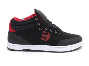 "Etnies ""Marana Mid Crank"" Shoes - Black/Red"