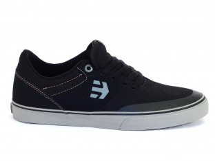 "Etnies ""Marana Vulc"" Shoes - Black/Grey/Gum (Aaron Ross)"