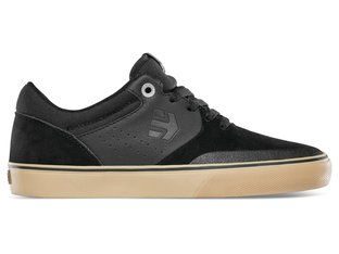 "Etnies ""Marana Vulc"" Shoes - Black/Gum/Silver (Tom Dugan)"