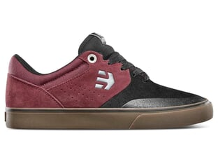 "Etnies ""Marana Vulc"" Shoes - Black/Red/Beige (Tom Dugan)"
