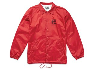 "Etnies ""Ply Coaches"" Jacket - Red"