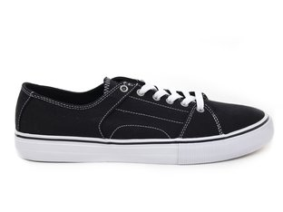 "Etnies ""RLS"" Shoes - Black/White/Silver"