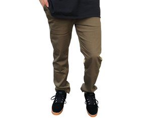 "Etnies ""Reno Chino"" Pants - Army Green"