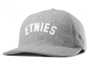 "Etnies ""Sandlot Strapback"" Kappe - Grey/Heather"