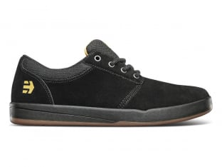 "Etnies ""Score"" Shoes - Black/Yellow"