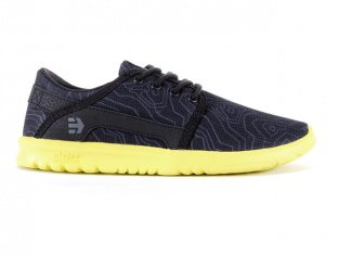 "Etnies ""Scout"" Footwear - Kids - Black / Yellow"