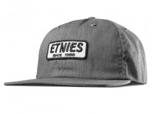 "Etnies ""Seager Strapback"" Kappe - Grey/Heather"