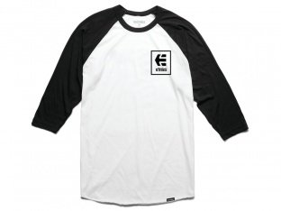 "Etnies ""Stack Box Raglan"" 3/4 Longsleeve - Black/White"