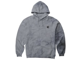 "Etnies ""Team Embroidery Wash"" Hooded Pullover - Grey/Black"