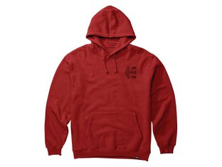"Etnies ""Team"" Hooded Pullover - Red"