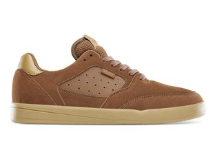 "Etnies ""Veer"" Shoes - Brown/Gum (Devon Smillie)"