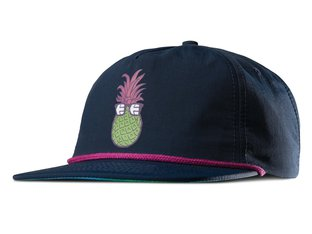"Etnies X Happy Hour ""5 Panel"" Kappe - Navy"