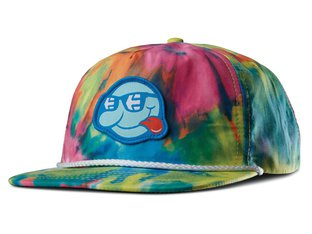 "Etnies X Happy Hour ""5 Panel"" Kappe - Tie Dye"