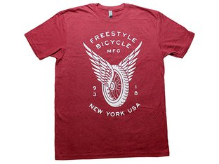 "FBM ""Freestyle"" T-Shirt - Cardinal Red"