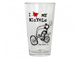 "FBM ""I Love My Bike"" Glas"