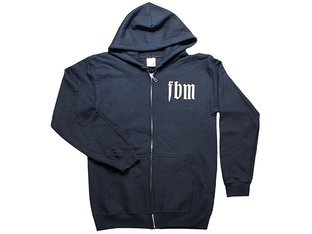 "FBM ""Infinity"" Hooded Zipper - Black"