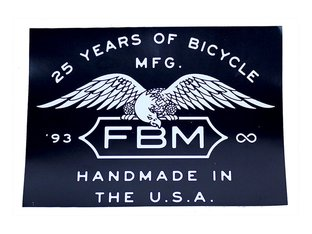 "FBM ""Infinity Medium"" Sticker"