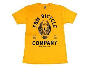 "FBM ""MFG Fun"" T-Shirt - Gold Yellow"