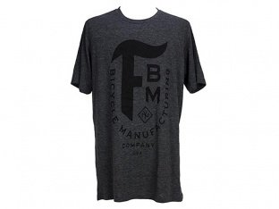 "FBM ""Manufacturing"" T-Shirt - Heather Charcoal"