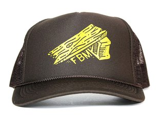 "FBM ""Ramp Mesh Trucker"" Cap - Brown"