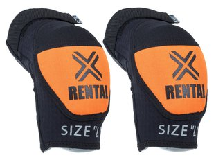 "FUSE ""Alpha Rental"" Elbow Pad - Black/Orange"