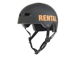 "FUSE ""Alpha Rental"" Helmet - Black/Orange"