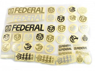 "Federal Bikes ""39pc"" 2016 Stickerset"