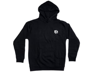 "Federal Bikes ""Chalk"" Hooded Pullover - Black"