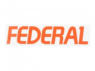 "Federal Bikes ""Dye Cut"" Sticker"