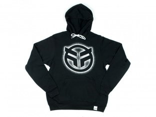 "Federal Bikes ""Focus"" Hooded Pullover - Black"