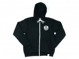"Federal Bikes ""Logo"" Hooded Zipper - Black"