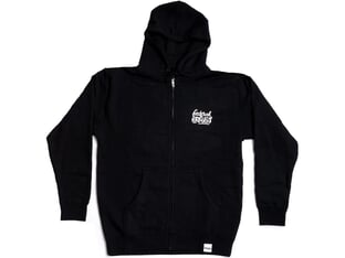 "Federal Bikes ""Script"" Hooded Zipper - Black"