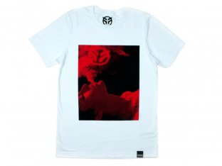 "Federal Bikes ""Smoke"" T-Shirt - White"