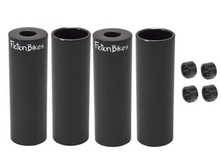 "Fiction BMX ""Steel Freestyle 4 Pack"" Pegs"