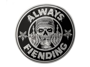 "Fiend BMX ""Always Fiending"" Sticker"