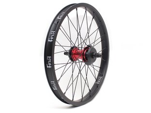 "Fiend BMX ""Cab"" Freecoaster Hinterrad - Black/Red"