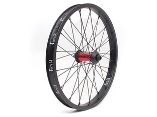 "Fiend BMX ""Cab"" Front Wheel - Black/Red"