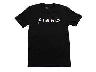 "Fiend BMX ""Friends"" T-Shirt - Black"